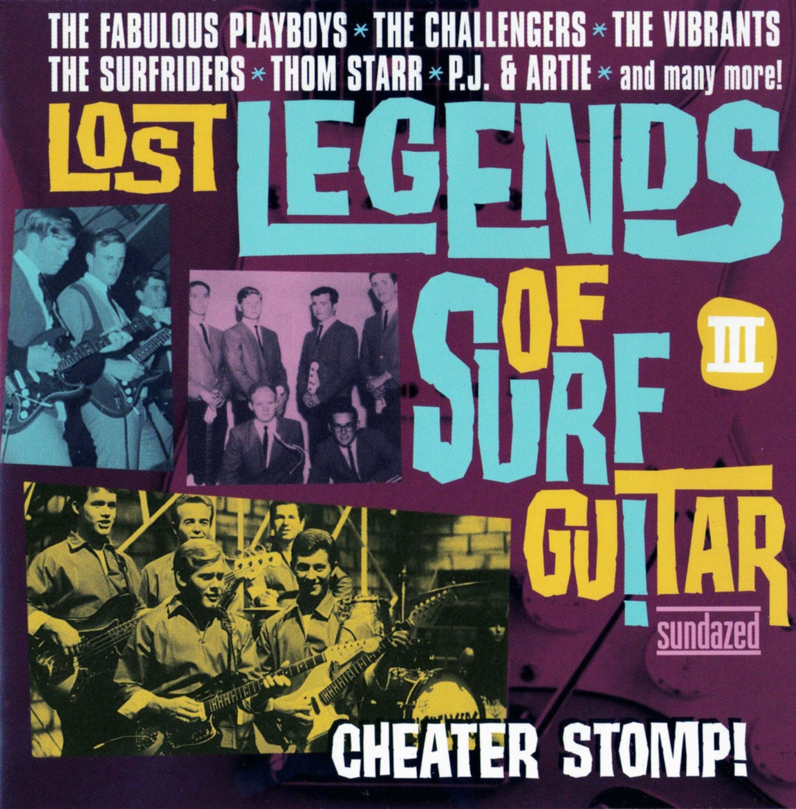 Egroj World Va Lost Legends Of The Surf Guitar Vol 3 # Walter Hugo Muebles