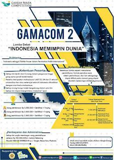 Lomba Debat Nasional Bahasa Indonesia Gamacom 2017 di UGM