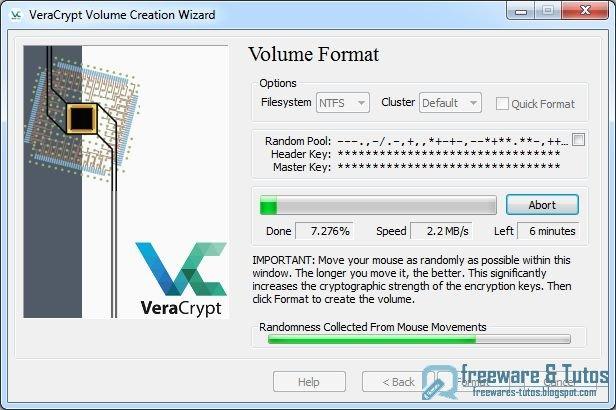 VeraCrypt : un logiciel libre de chiffrement ~ Freewares ...