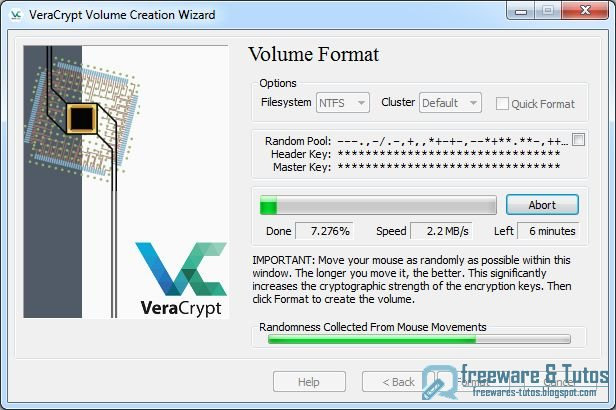 VeraCrypt : un logiciel libre de chiffrement