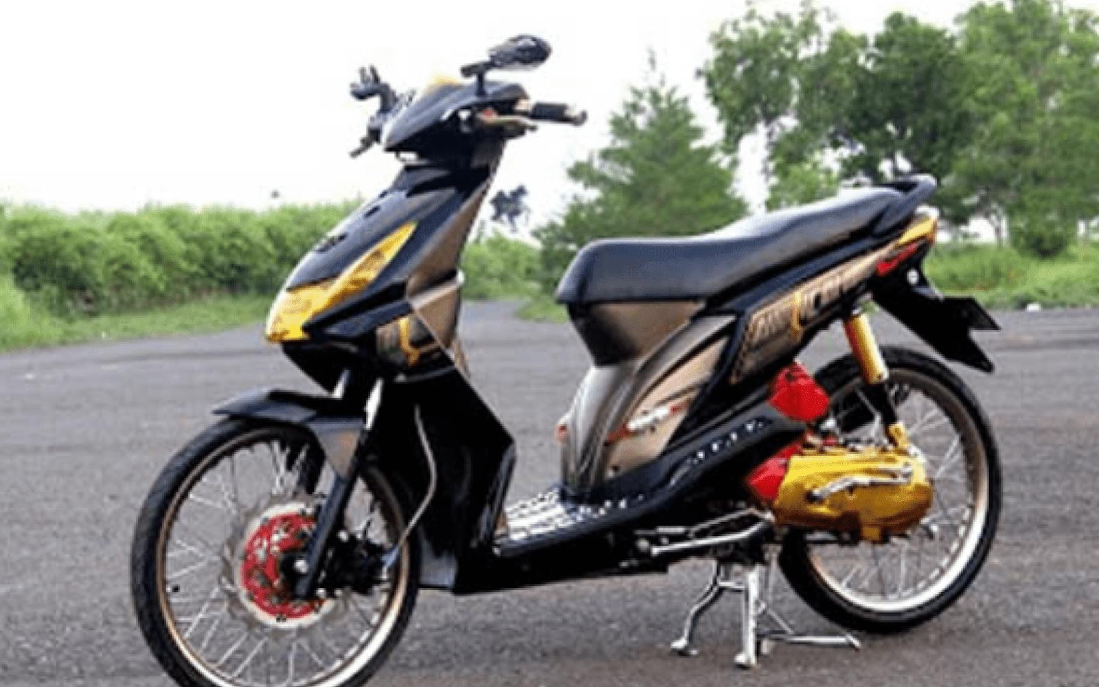 3 Model Modifikasi Motor Honda Beat Terpopuler 2018 Webotomotif