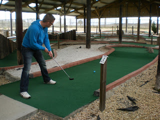 Adventure Golf Putting at Noah's Ark Golf Centre in Perth