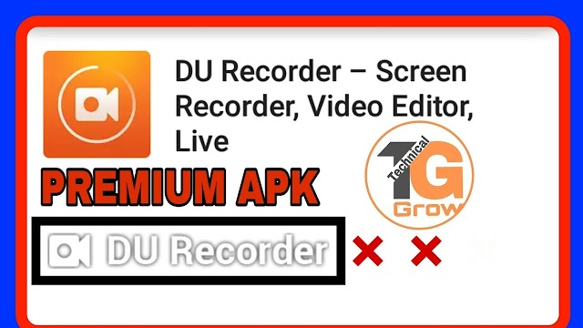 Du Recorder Pro Apk || Download For Free: