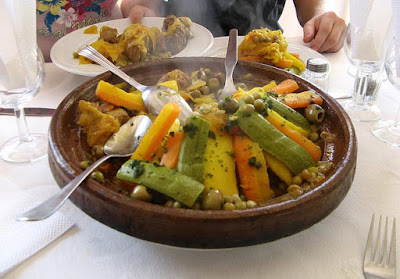 Heart Healthy Moroccan Vegetable Tagine Stew Recipe