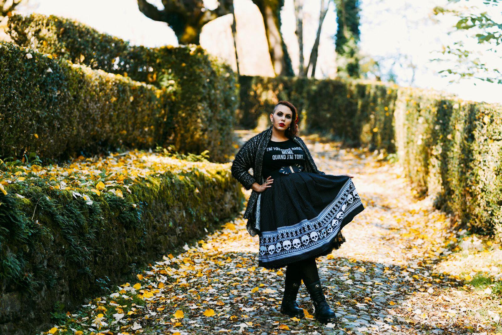 Look gothique rétro automne