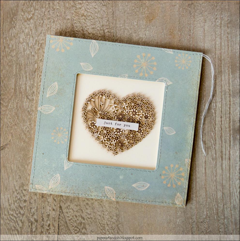 Paper, ART & Co.: Gerahmte Karten - Zum Muttertag