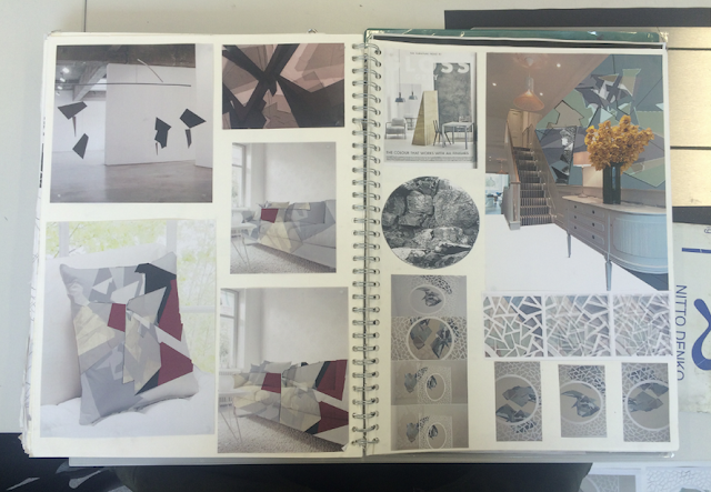 Images Featured Are Sketchbook Spreads And Final Ideas Which Were In Portfolios For Art School Applications