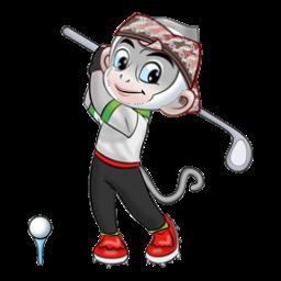 Logo dan Lambang Cabang Olahraga PON Jabar 2016 Golf