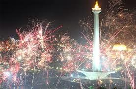 perayaan malam tahun baru di jakarta