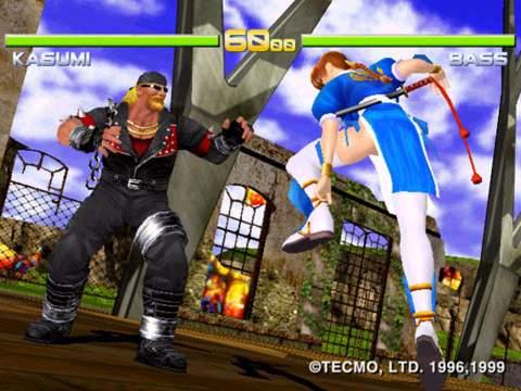 October - Dead or Alive 2 (Arcade, Team Ninja)