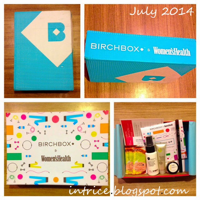July 2014 Birchbox intrice.blogspot.com