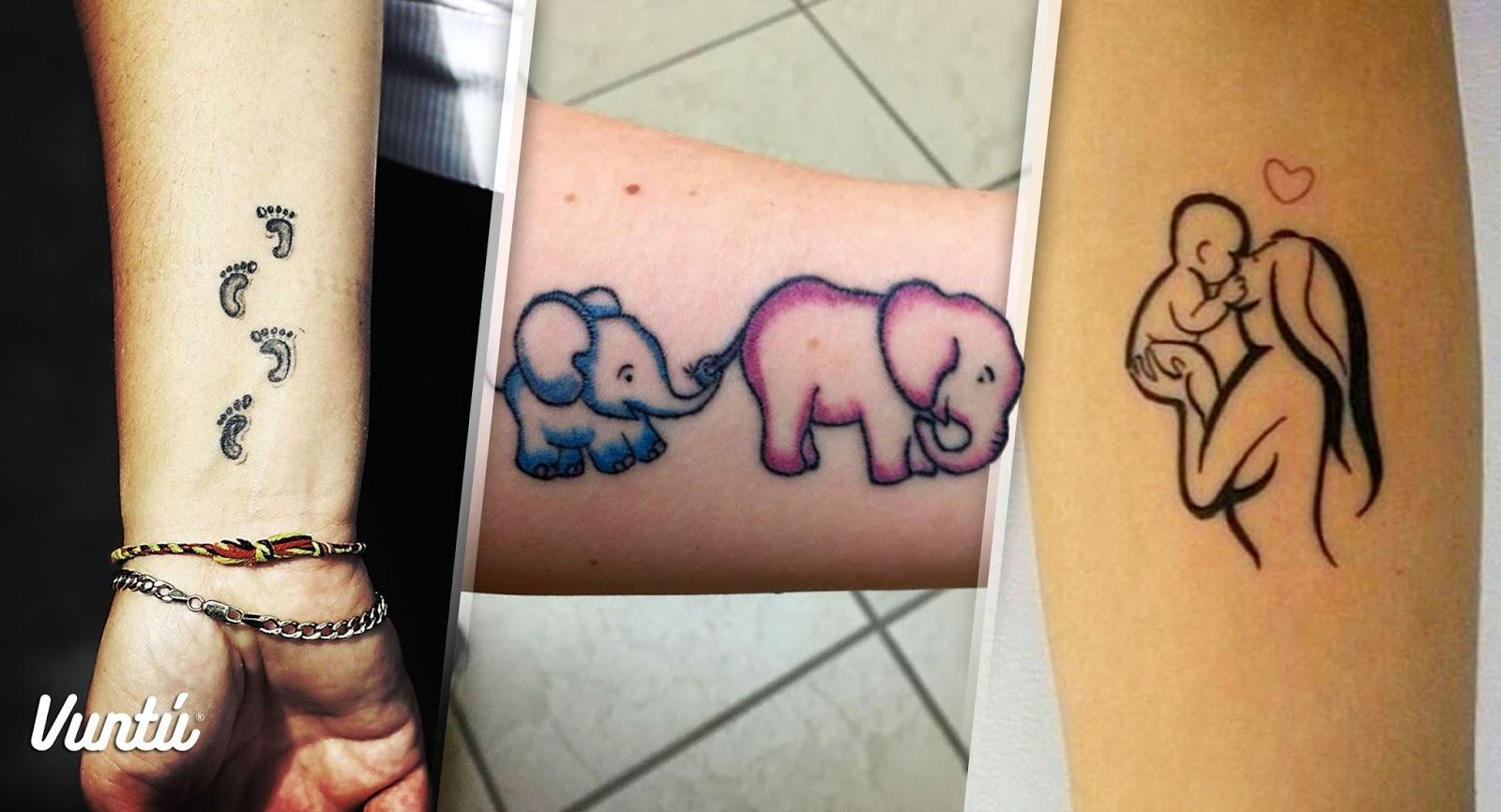 Vuntú Guru 20 Mamás Que Se Tatuaron Para Recordar A Sus Hijos Like