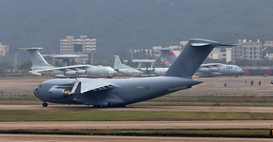 Asian Defence News: Chinese Y-20, US C-17 Globemaster and ...
