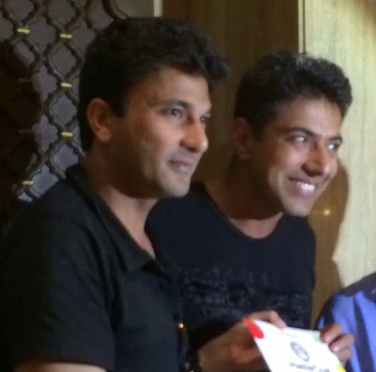 Photo memories of Foodhop with Chef Vikas and Chef Ranveer for Master Chef India 4 in Ahmedabad