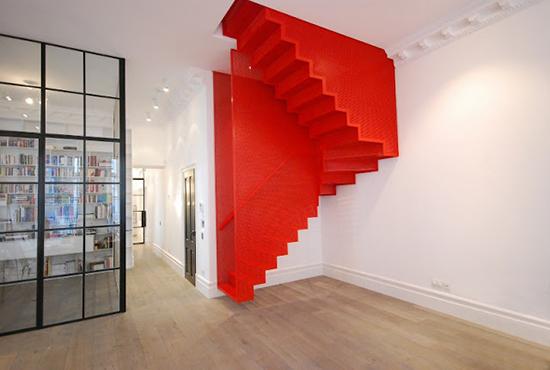 contoh desain tangga super unik