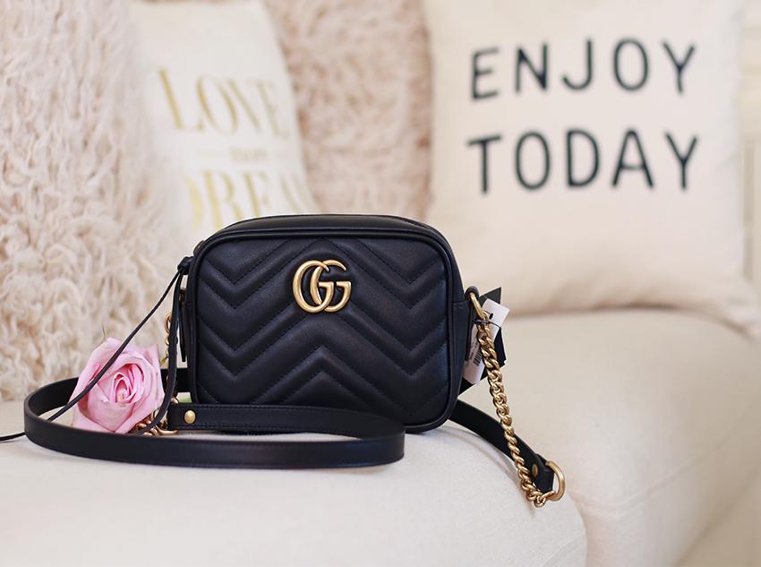 Dadou Chic Gucci Gg Marmont Mini Camera Bag