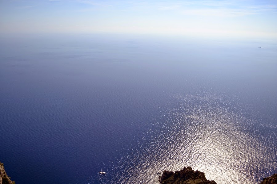 Views from top of Capri
