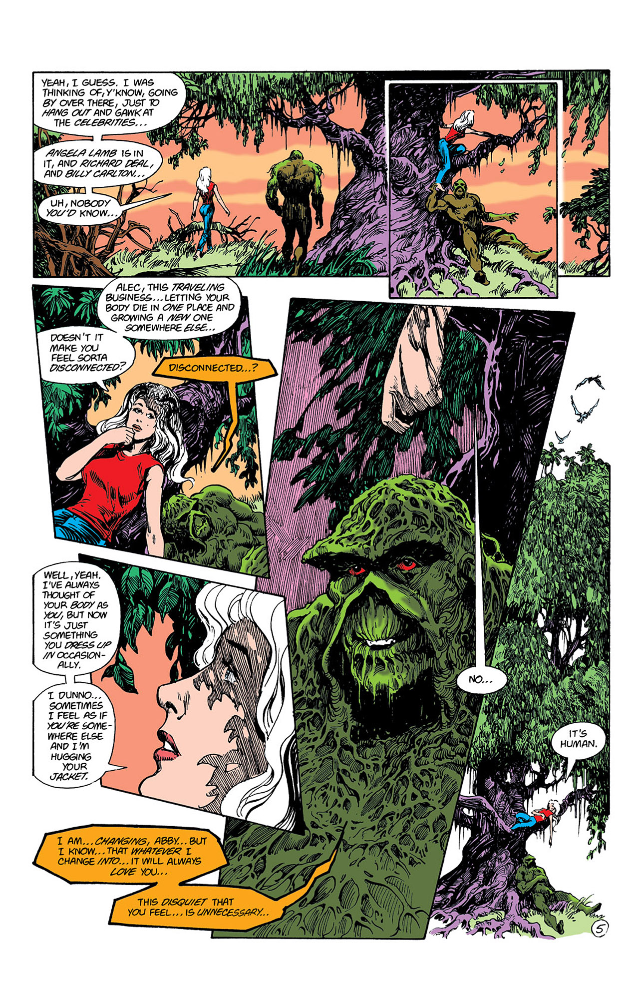 Swamp Thing (1982) Issue #41 #49 - English 6