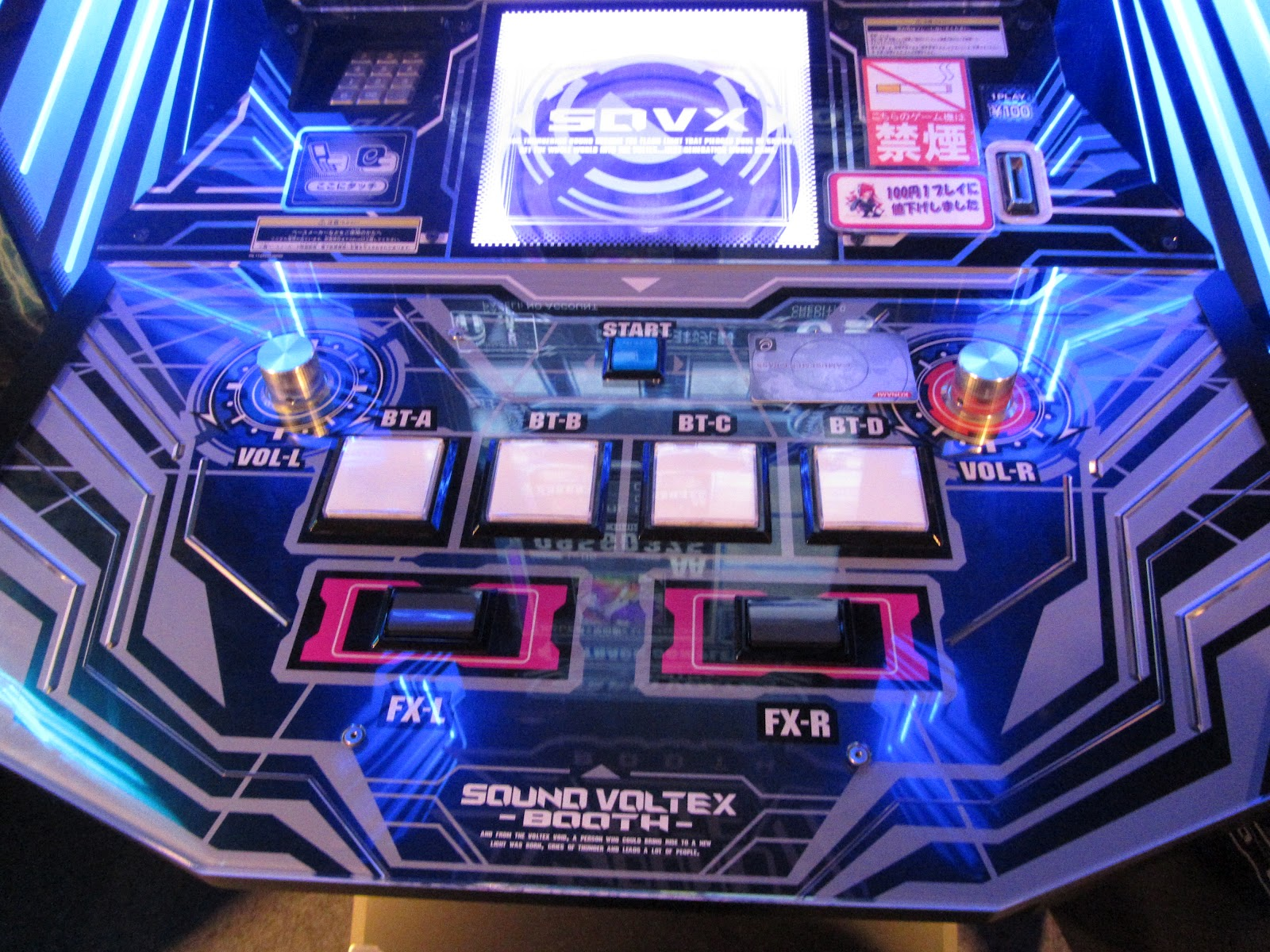 Identity Gaming: Sound Voltex Booth