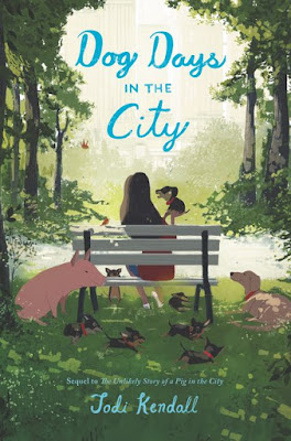 Dog Days in the City book by Jodie Kendall - Dog Lovers Book Club Kids' Corner