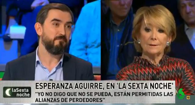 El ZASCA de Ignacio Escolar a Esperanza Aguirre