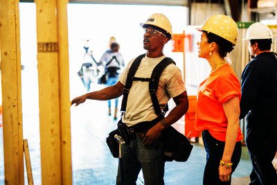 79952634abb2 In 2017, The Home Depot Foundation initiated a Stewart and Ft. Bragg pilot  job training for military personnel who are licensed from active service,  ...