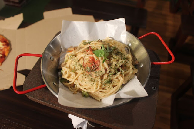 Carbonara Pasta of North Wing in Maginhawa