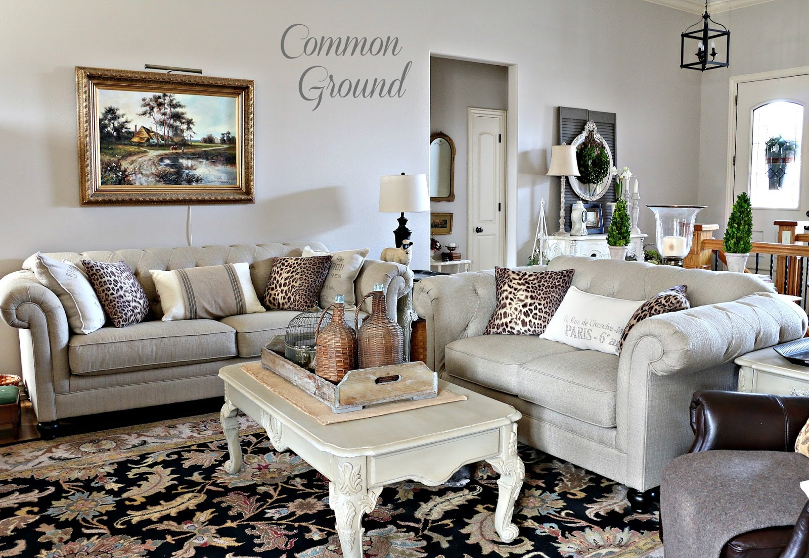 Winter Living Room: Common Ground : Cozy Winter Living Room