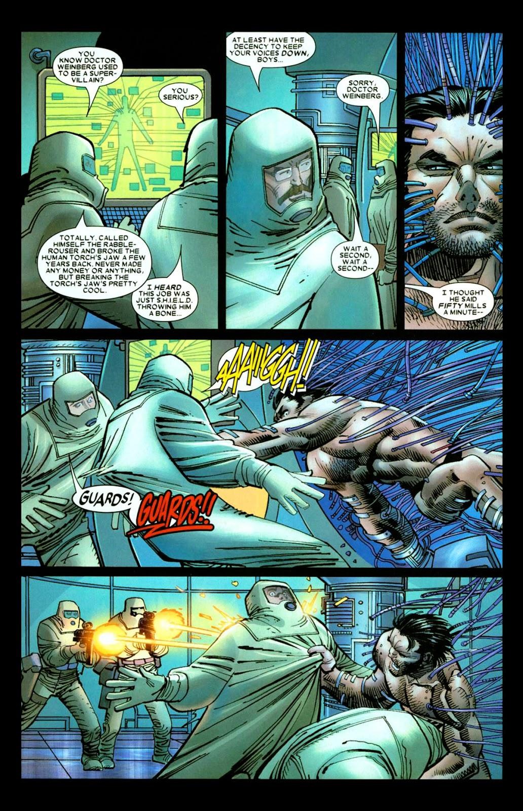 Read online Wolverine (2003) comic -  Issue #26 - 16