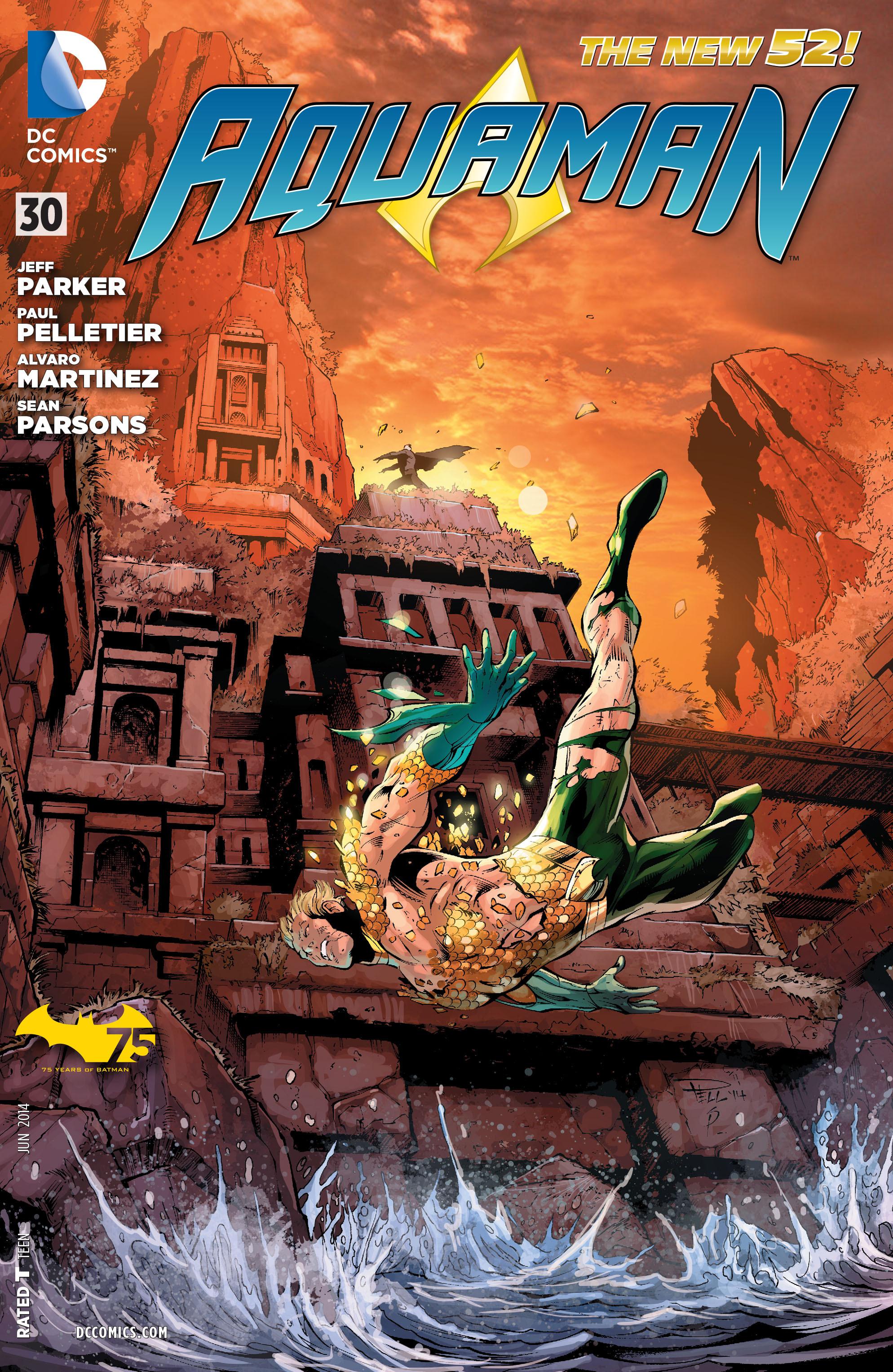 Read online Aquaman (2011) comic -  Issue #30 - 1