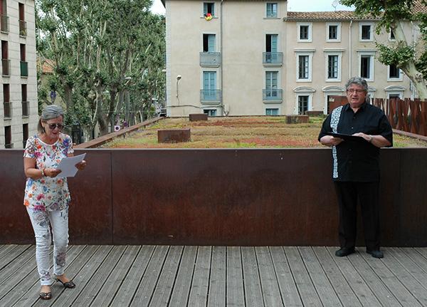 Annick Camblor et Guy-Michel Carbou lisent Gérard Levoyer