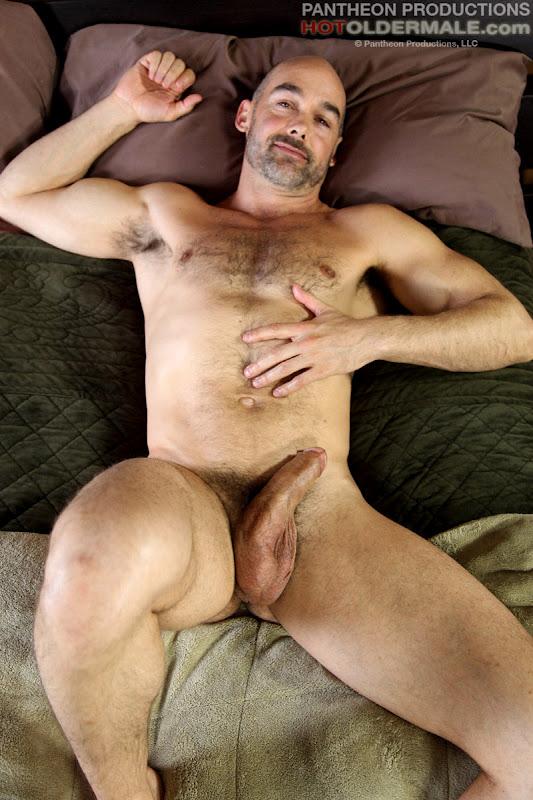 Masculine Bear Nick Forte Gets Nude At Hot Older Male -9100
