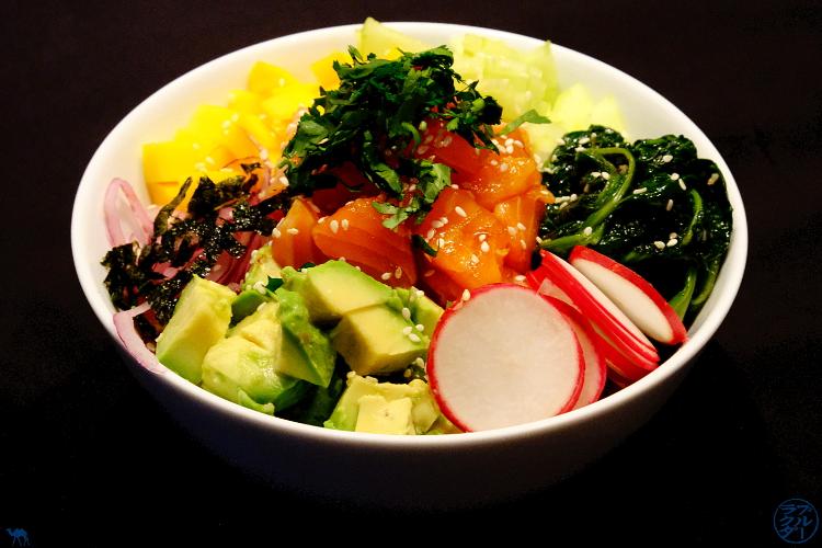 Le Chameau Bleu - Blog Cuisine et Voyage - Recette du Poke Bowl au Saumon Teriyaki