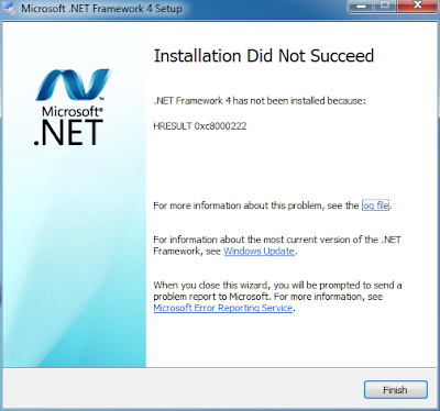 "Cara Mengatasi Gagal Install Net Framework ""Installation Did Not Succeed"" (HRESULT 0xc8000222)"