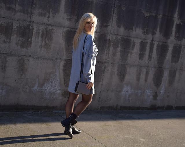 outfit grigio come indossare il grigio abbinamenti grigio mariafelicia magno fashion blogger colorblock by felym fashion blog italiani blogger italiane web influencer italiane outfit gennaio 2017