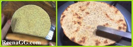 जौ चने आटे की रोटी बनाने की विधि   How to Make Jo Chana Aata Roti