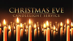 Granbury Church Christmas Eve candlelight service