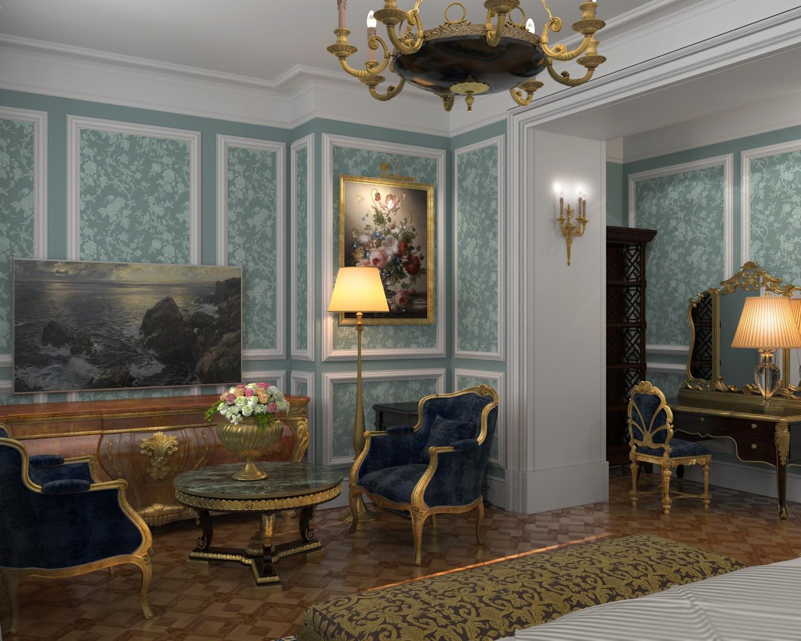 Darya girina interior design march 2015 - The Third Option For Bedroom