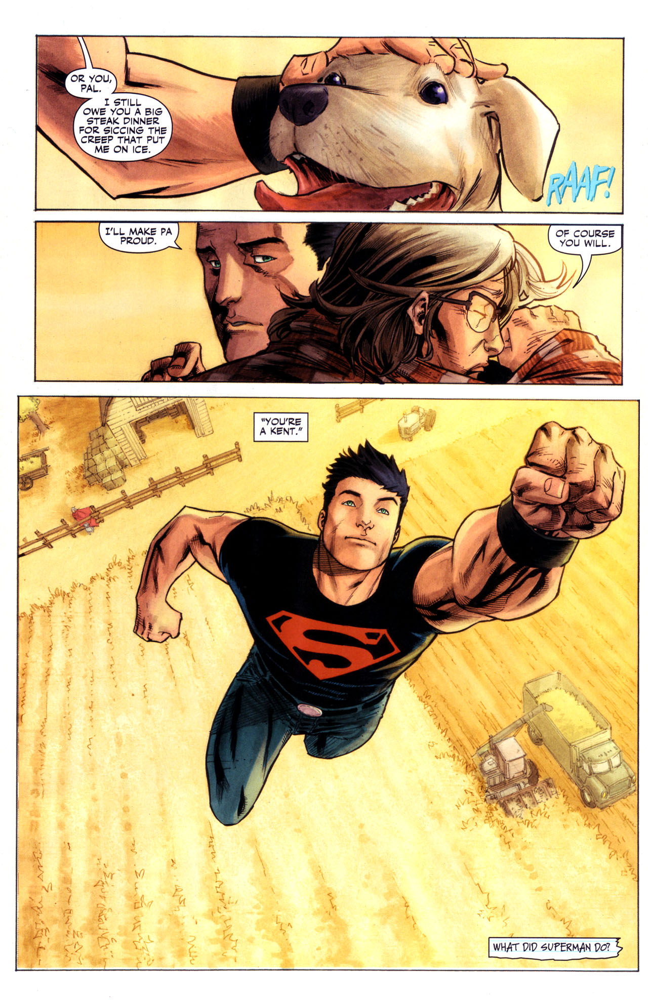 Read online Adventure Comics (2009) comic -  Issue #1 - 4