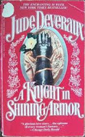 A Knight in Shining Armor, Jude Deveraux, romance novel, historical fiction