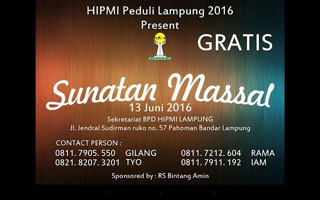 HIPMI Lampung Peduli 2016