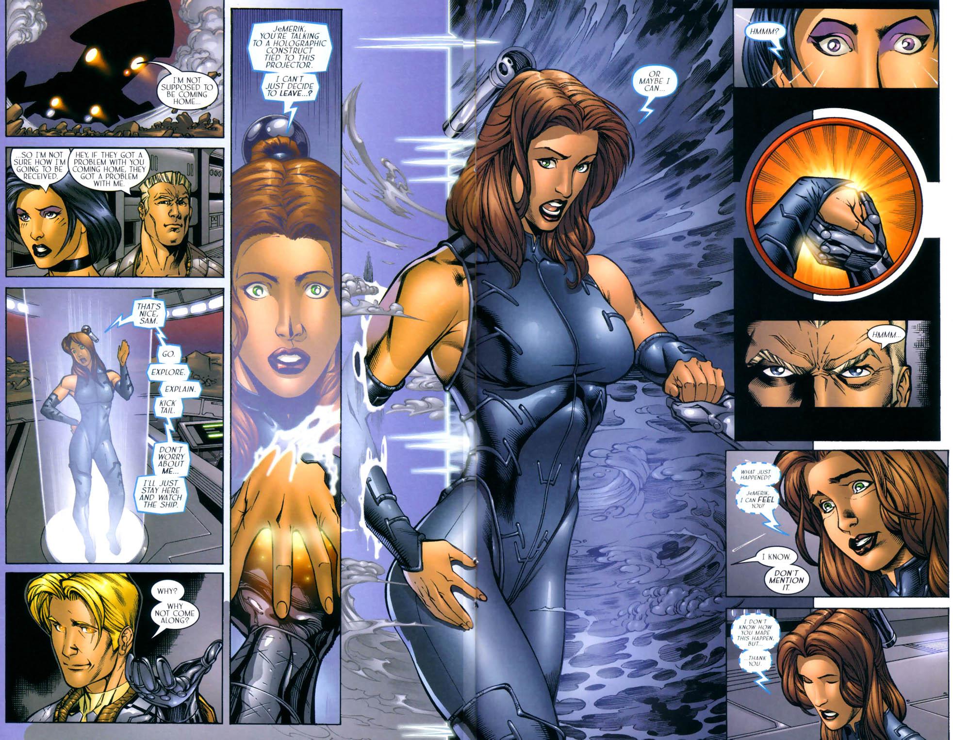 Read online Sigil (2000) comic -  Issue #8 - 13