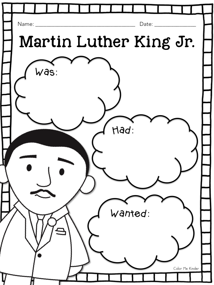 Martin Luther King Jr. was a Man of Peace + Freebies