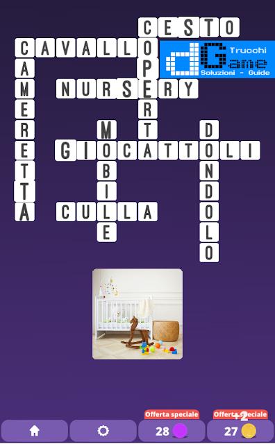 Soluzioni One Clue Crossword livello 17 schemi intermedia(Cruciverba illustrato)  | Parole e foto