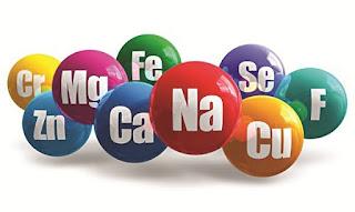 Khoáng chất - Vai trò của khoáng chất