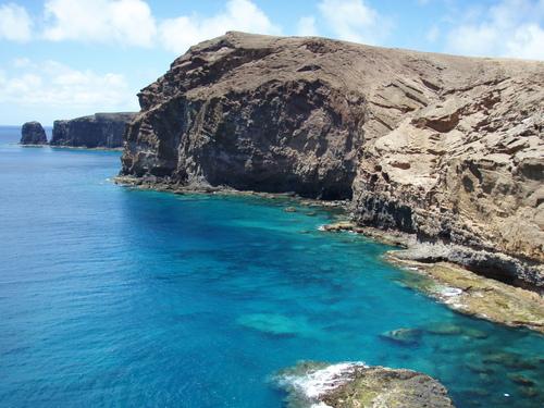 piscinas naturales del norte de Gran Canaria-farallon del galdar