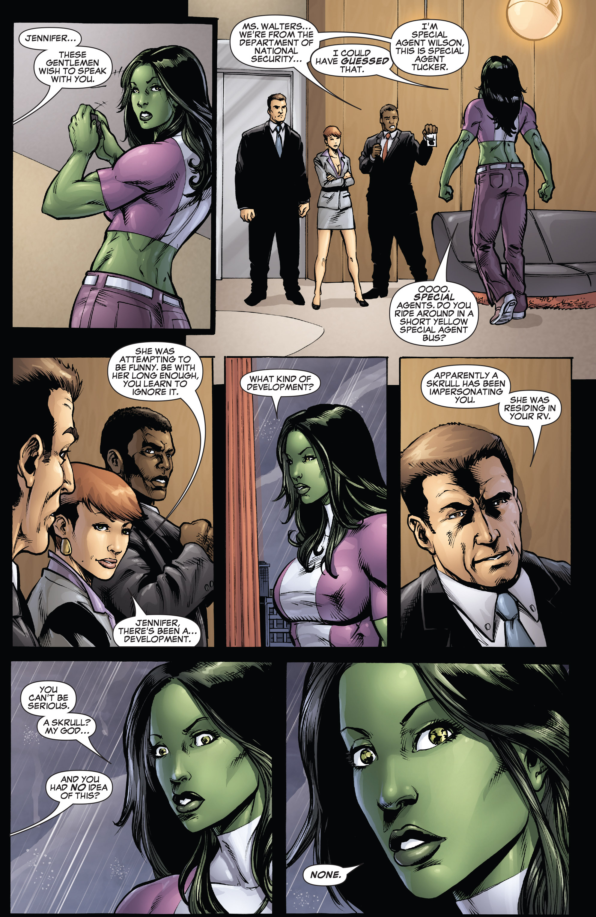 Read online She-Hulk (2005) comic -  Issue #38 - 12