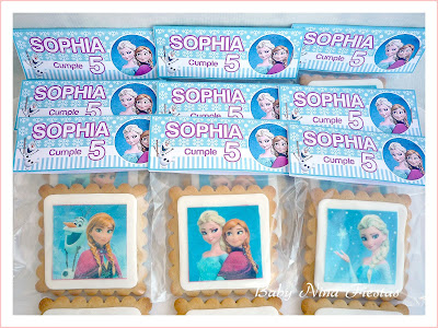 galletas decoradas personalizadas frozen