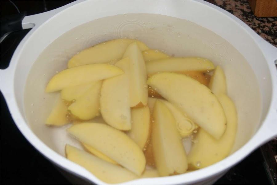 receta de patatas gajo o patatas deluxe paso 1