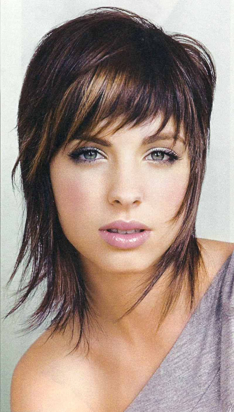 cute short hairstyles are classic: medium short hairstyles